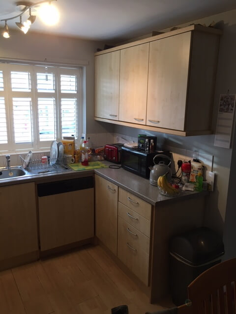 Kitchen Makeover - Before 1
