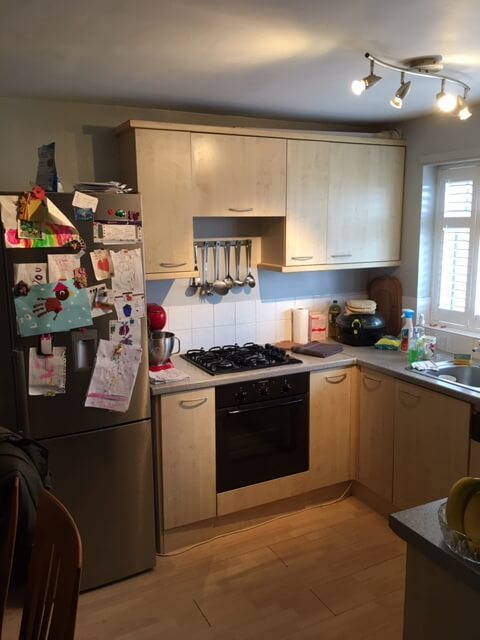 Kitchen Makeover - Before 2