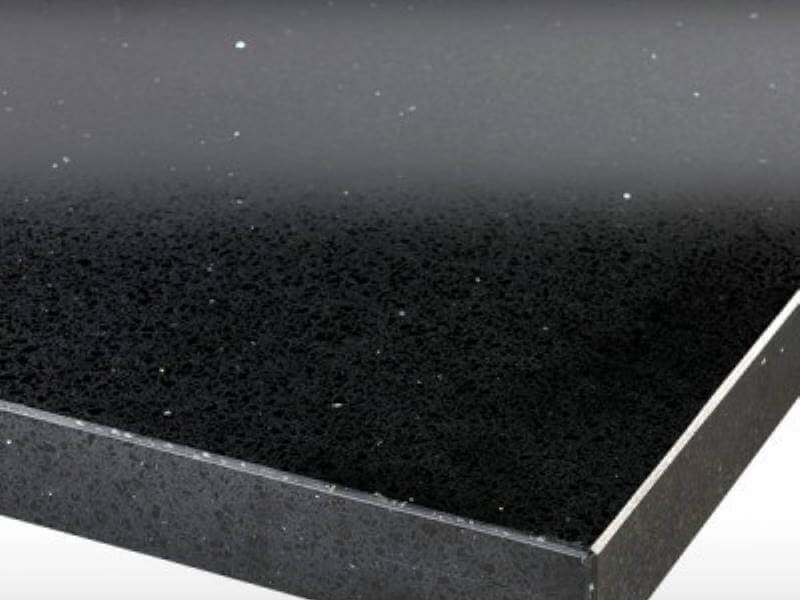 Worktop - Black Sparkle